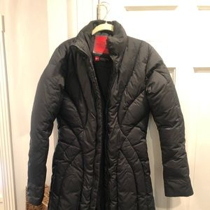 North Face long winter coat